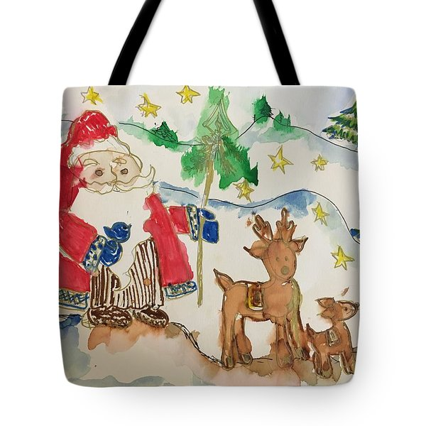 Christmas Is Coming  Tote Bag