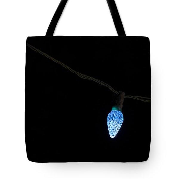 Christmas Light Tote Bag