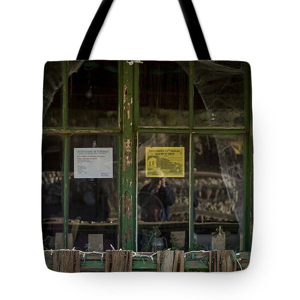 Christmas Lights And Reflections Tote Bag
