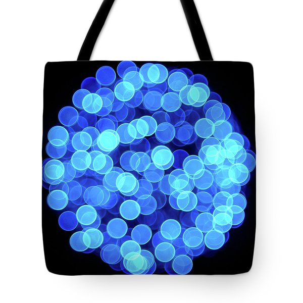Tote Bag featuring the photograph Christmas Lights Illuminate Our Cities by Giovanni Bertagna