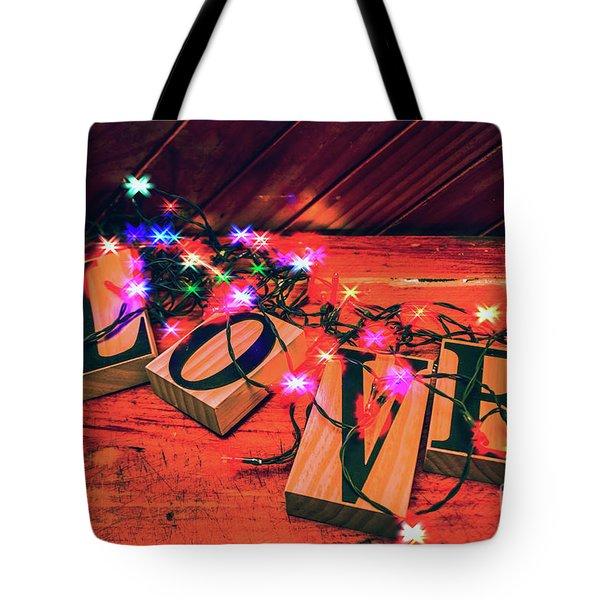 Christmas Love Decoration Tote Bag
