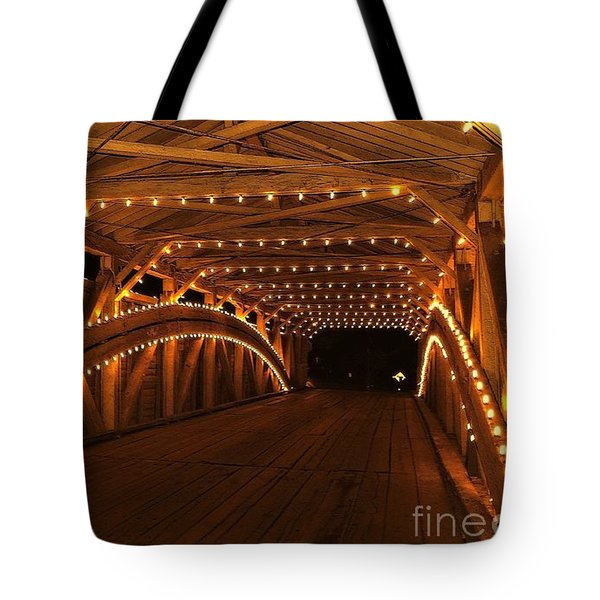 Christmas Luminance Tote Bag