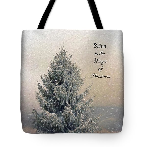 Christmas Magic Tote Bag