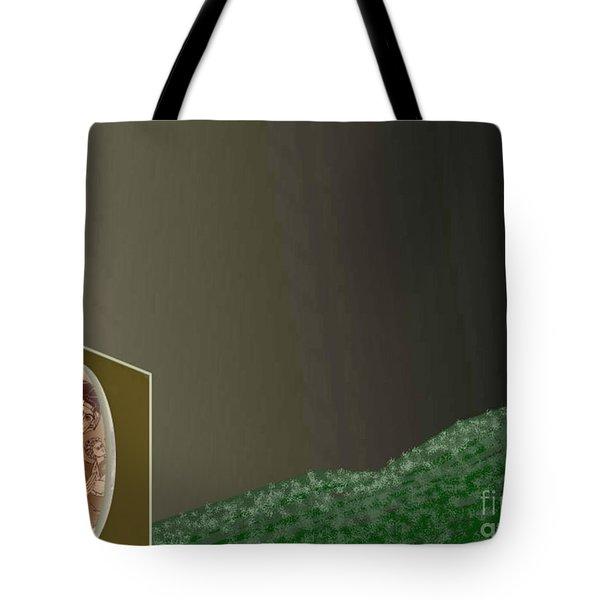 Christmas Moon Tote Bag