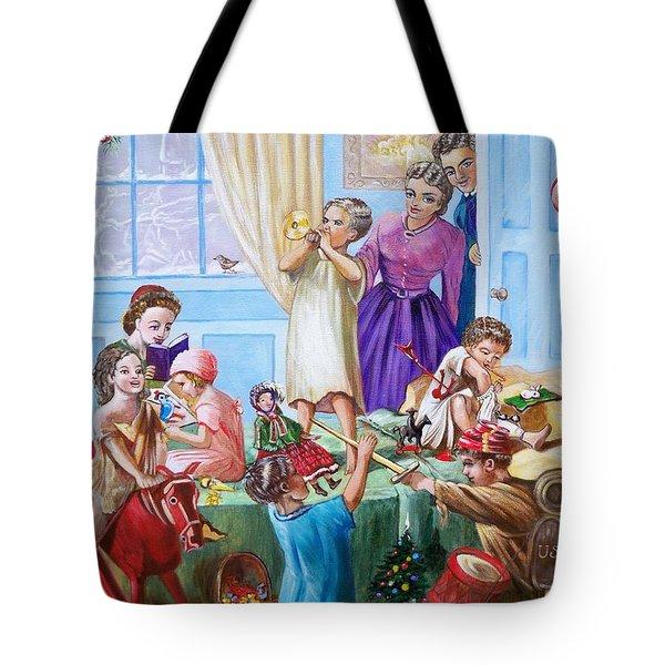 American History  We Say Merry  Christmas  Because It Is Christmas  Tote Bag