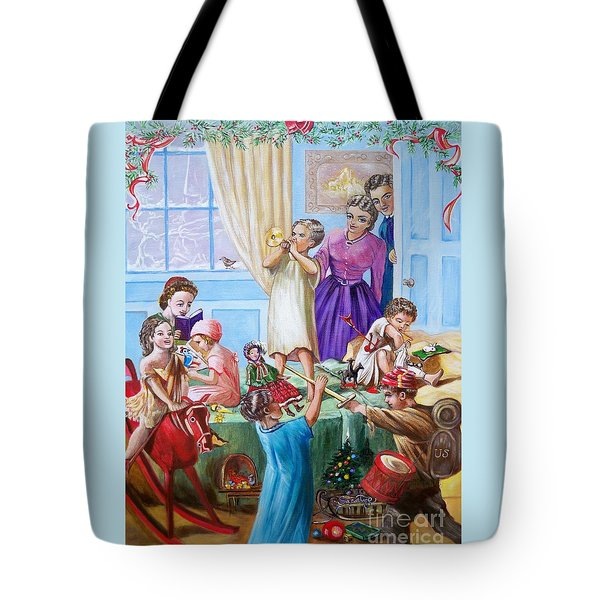 American History  We Say Merry  Christmas  Because It Is Christmas  Tote Bag