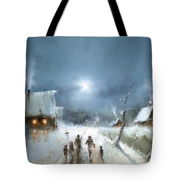 Christmas Night Tote Bag