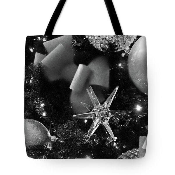Christmas Ornaments No. 1-2 Tote Bag by Sandy Taylor