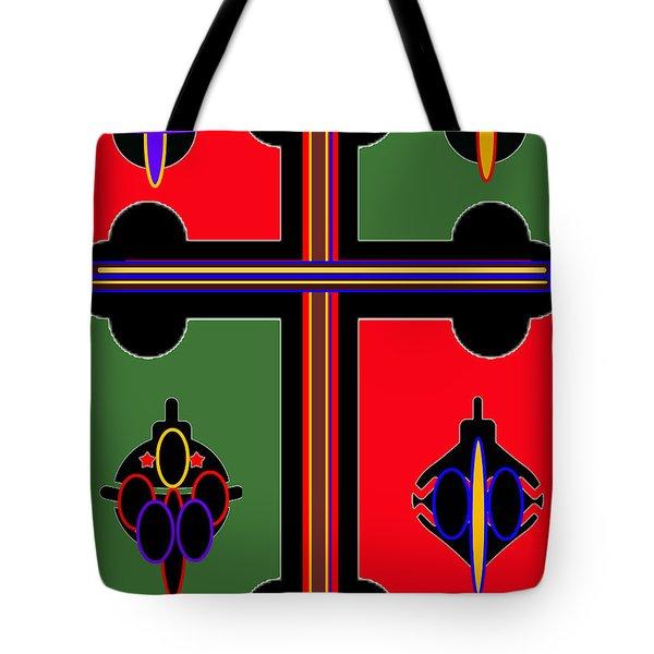 Christmas Ornate 1 Tote Bag