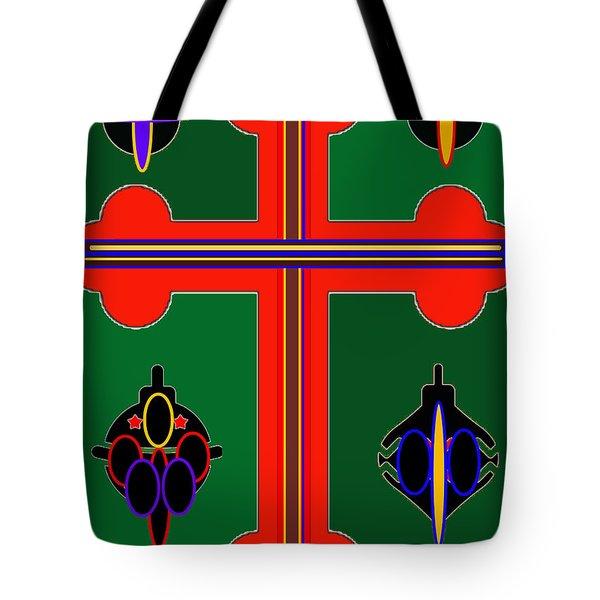 Christmas Ornate 3 Tote Bag