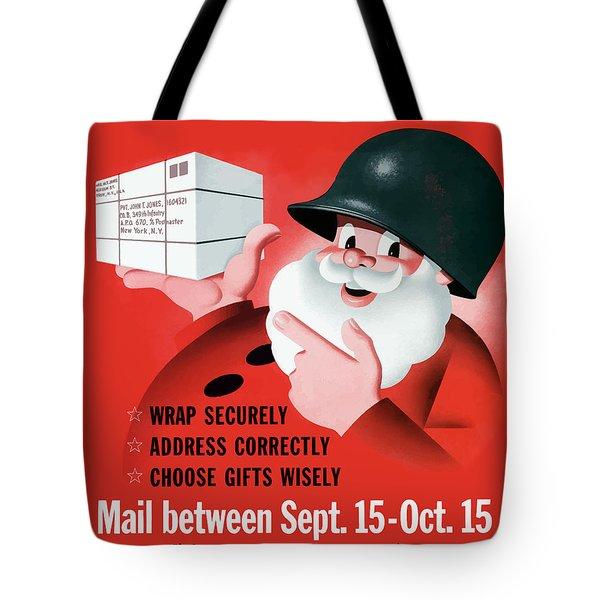 Christmas Overseas Gifts -- Ww2 Tote Bag
