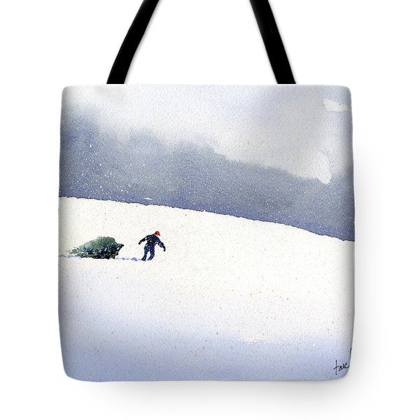 Christmas Past Tote Bag