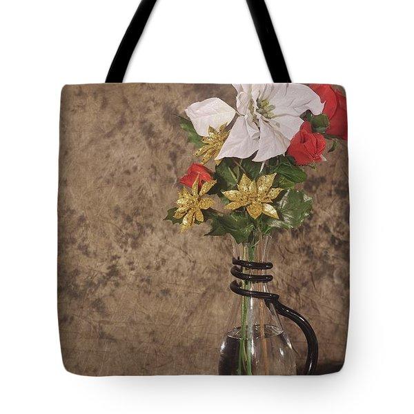 Christmas Pitcher Tote Bag