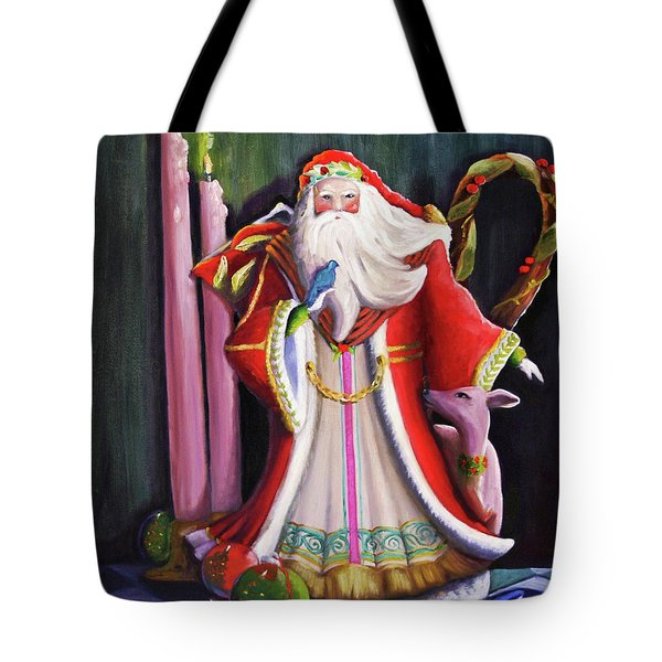 Christmas Pitcher  Tote Bag