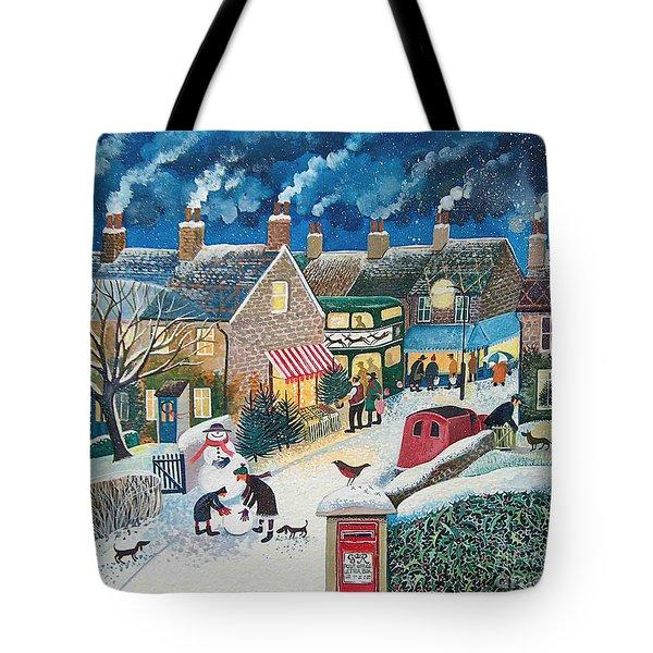 Christmas Post Tote Bag