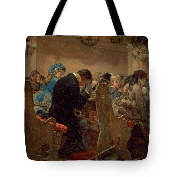 Christmas Prayers Tote Bag