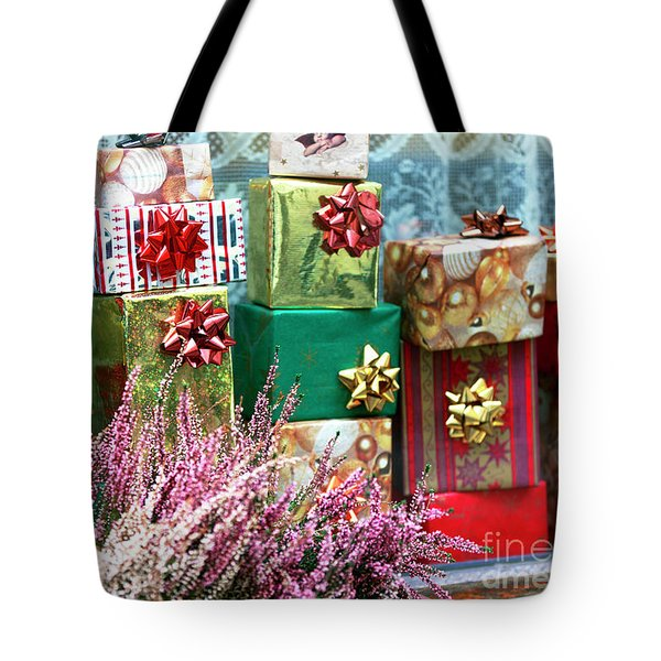 Christmas Presents In Vienna Tote Bag