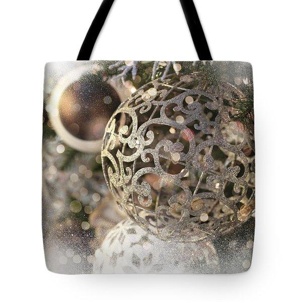 Christmas Tote Bag by Helga Novelli