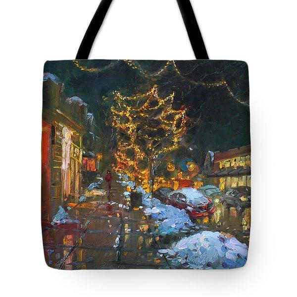 Christmas Reflections Tote Bag