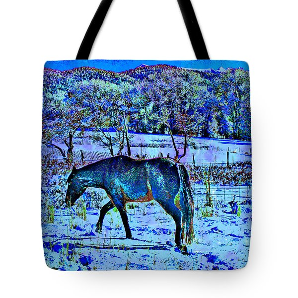 Tote Bag featuring the photograph Christmas Roan El Valle IIi by Anastasia Savage Ealy