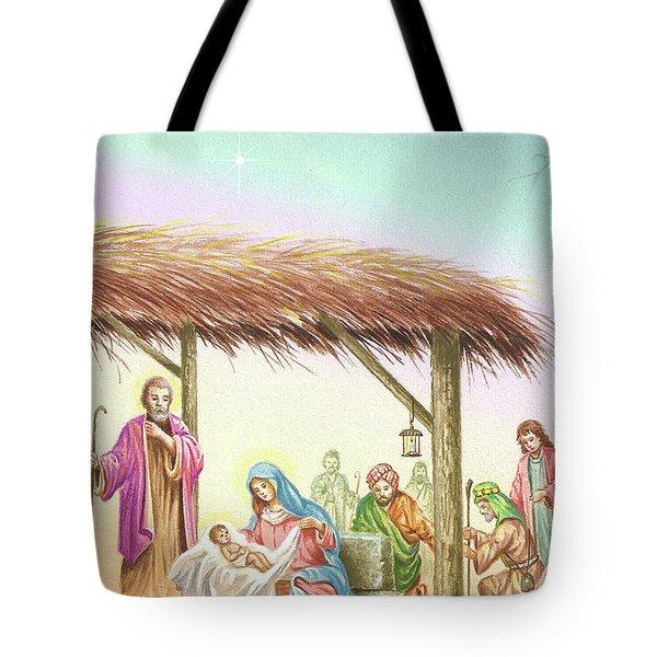 Christmas Scene 1 Tote Bag