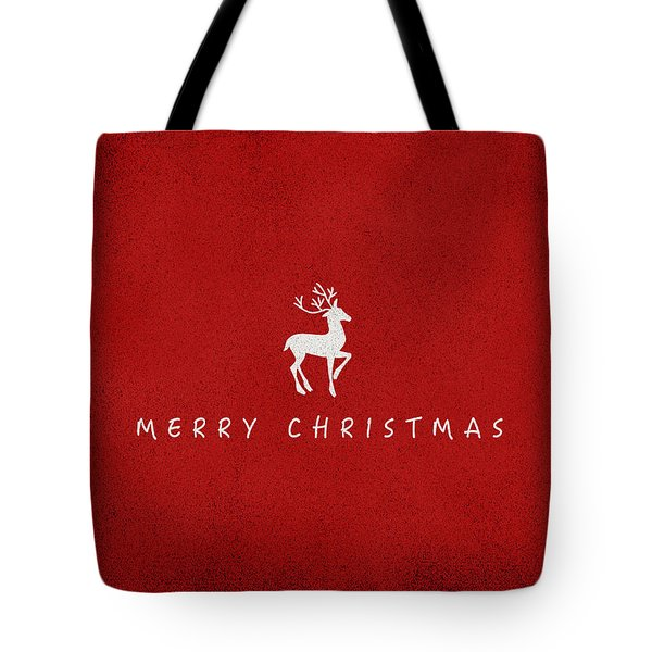 Christmas Series Christmas Deer Tote Bag
