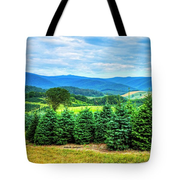 Christmas Spirit Tote Bag by Dale R Carlson