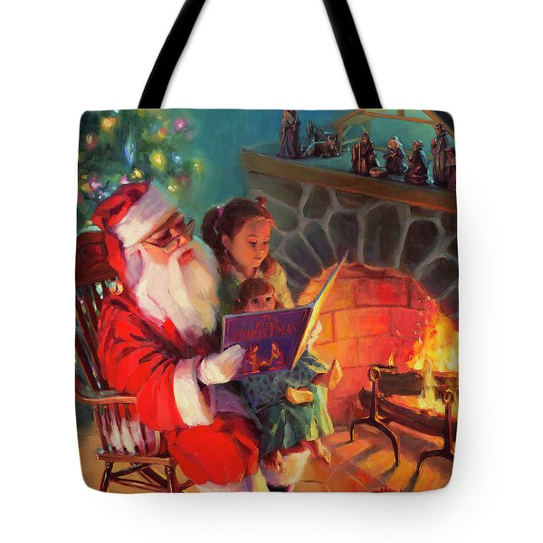 Christmas Story Tote Bag