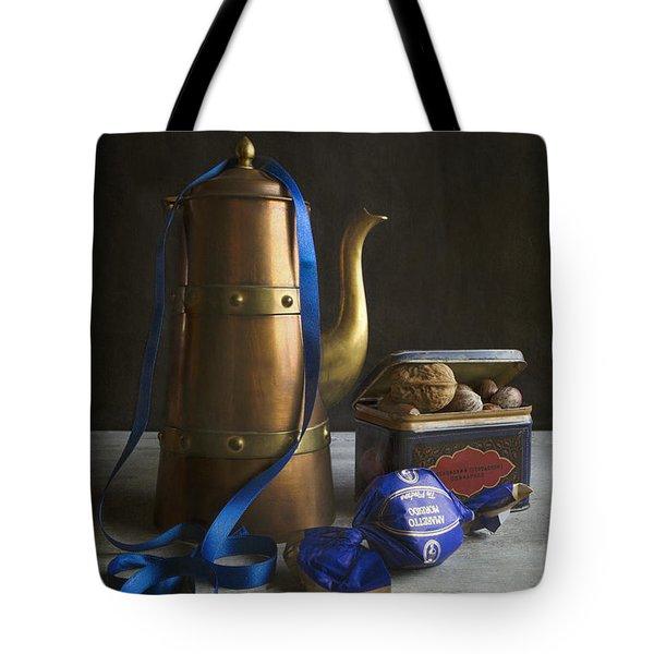 Christmas Tea Tote Bag