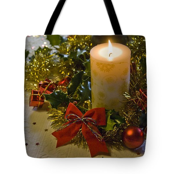 Christmas Time  Tote Bag by Sophie De Roumanie