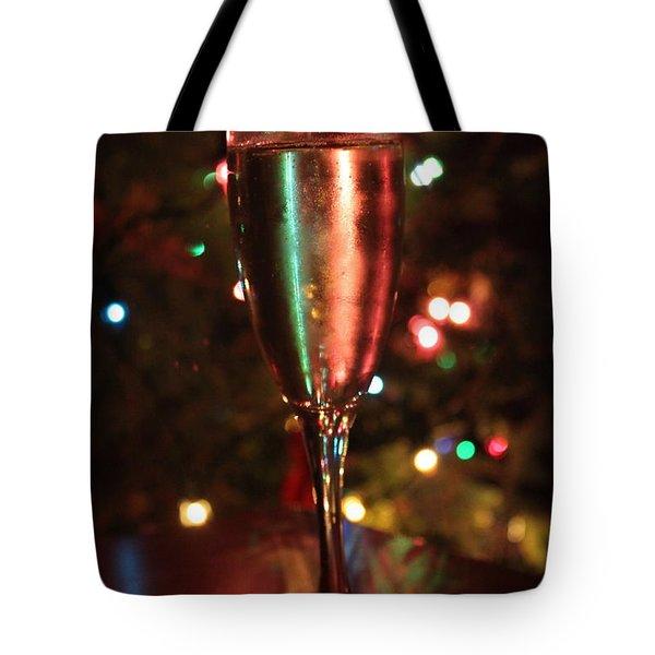 Christmas Toast Tote Bag by Lauri Novak