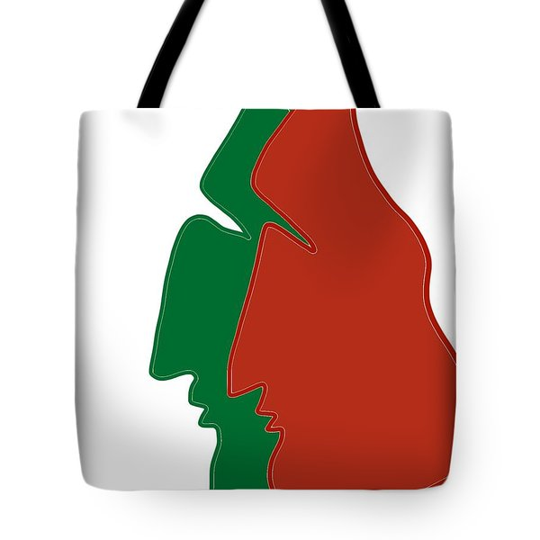 Christmas Together Tote Bag