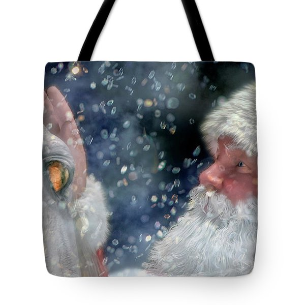 Christmas Touch Tote Bag