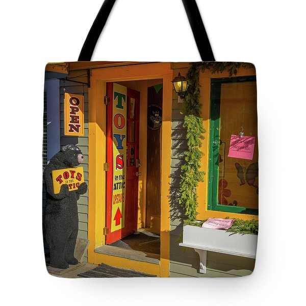 Christmas Toys In The Attic Tote Bag