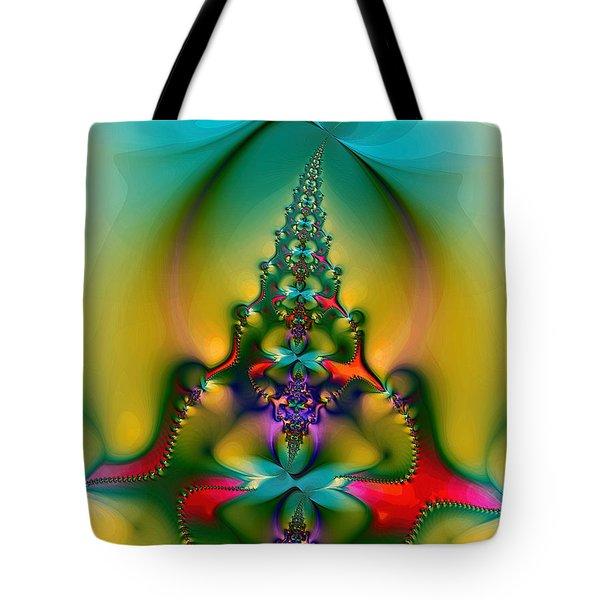Christmas Tree Tote Bag by Alexandru Bucovineanu