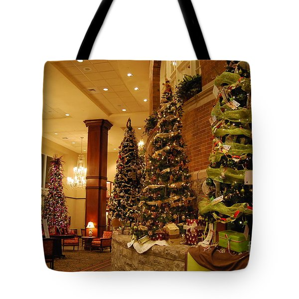 Tote Bag featuring the photograph Christmas Tree by Eric Liller