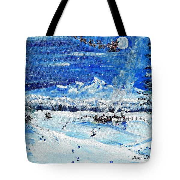 Christmas Wonderland Tote Bag by Shana Rowe Jackson