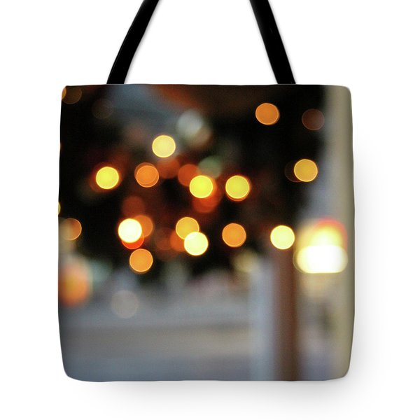 Christmas Wreath- Photography By Linda Woods Tote Bag