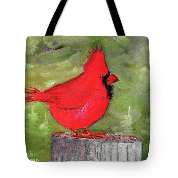 Christopher Cardinal Tote Bag