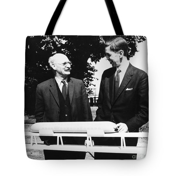 Christopher Cockerell Tote Bag