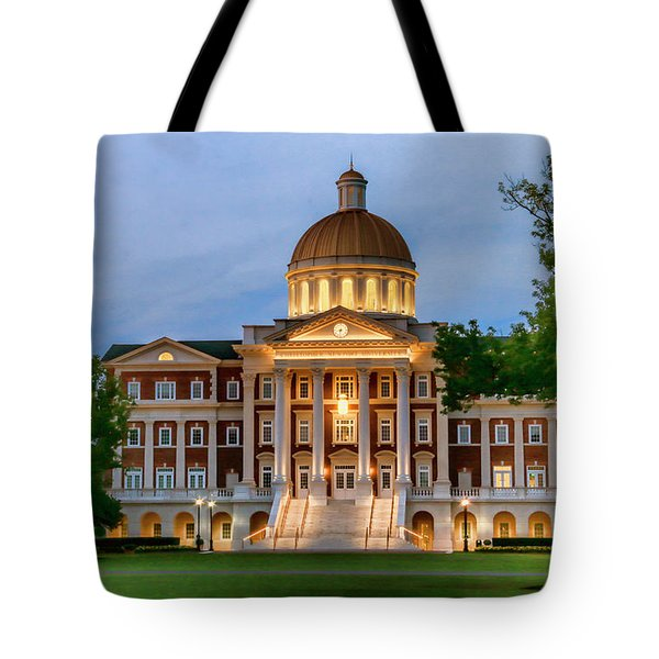 Christopher Newport Hall An Exquisite Jewel Tote Bag