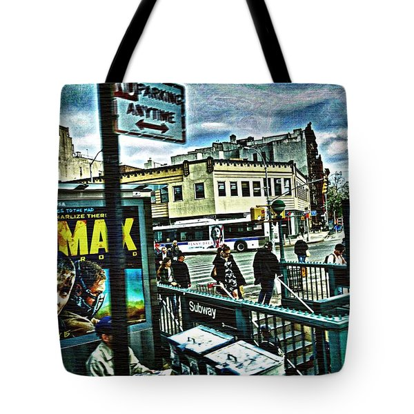Christopher Street Greenwich Village  Tote Bag