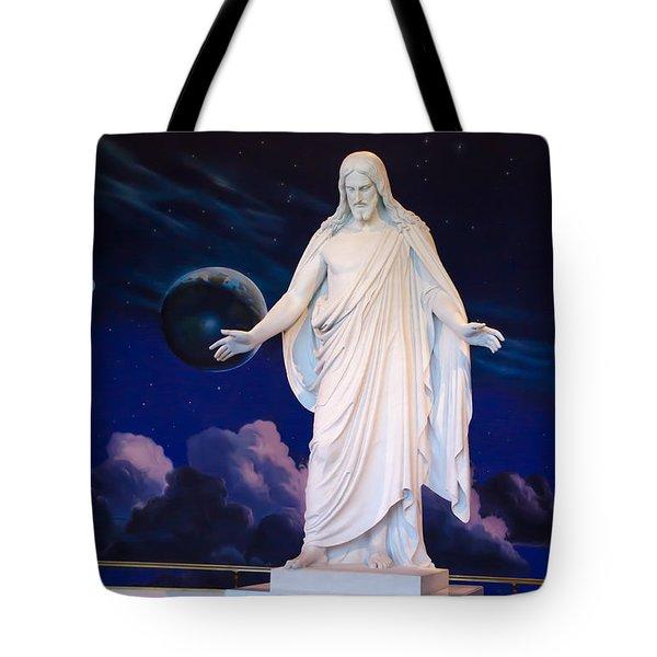 Christus Tote Bag