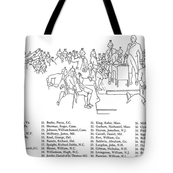 Christy: U.s. Constitution Tote Bag by Granger