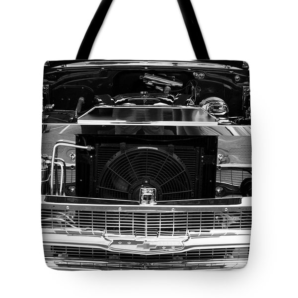 Tote Bag featuring the digital art Chrome And Coffee by Steve Godleski