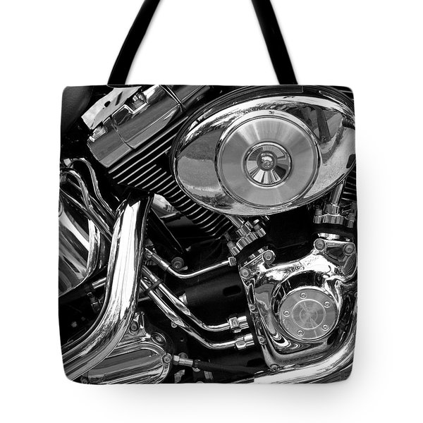 Chrome Tote Bag by Lynda Lehmann