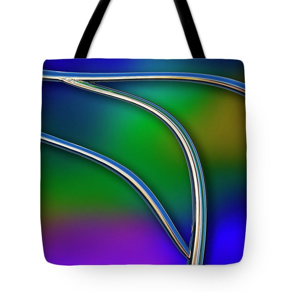 Tote Bag featuring the photograph Chrome by Paul Wear