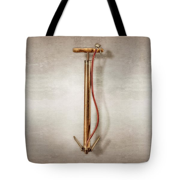 Chrome Pump Tote Bag by YoPedro