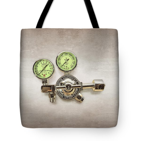 Chrome Regulator Gauges Tote Bag