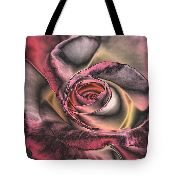 Chrome Rose 368 Tote Bag